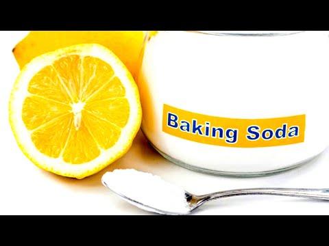 Half A Lemon Dipped In Baking Soda!!
