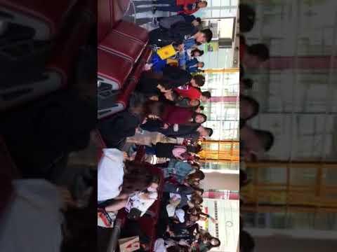 Chinese Pop Stars at Beijing Airport