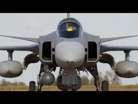 Hur man blir Stridspilot - Johan Wedin JAS 39 Gripen
