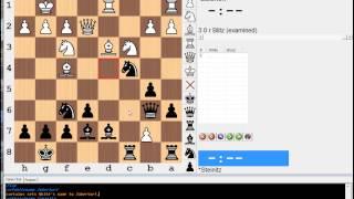 Key Moments in Chess History #10 (Steinitz vs Zukertort - 1st World Championship)