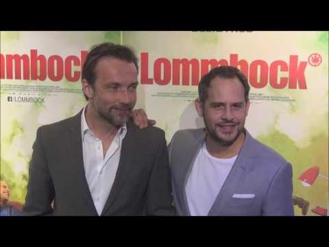 Lucas Gregorowicz & Moritz Bleibtreu & Christian Zbert   Preview von LOMMBOCK München 21 03 2017