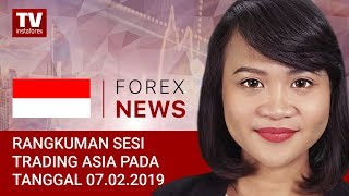 InstaForex tv news: 07.02.2019: USD Memegang Kendali Atas Rival (USDX, USD/JPY, AUD/USD, NZD/USD)