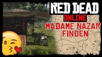 Madame Nazar finden! | Alle Locations / Übersicht´s Karte | DCine | Red Dead Online