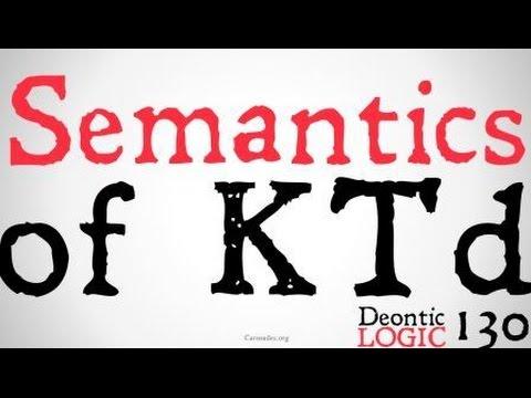 Semantics for Augmented Reductive Deontic Logic (KTd)