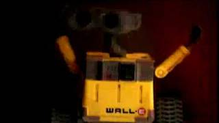 WALL-E action figures toy advert