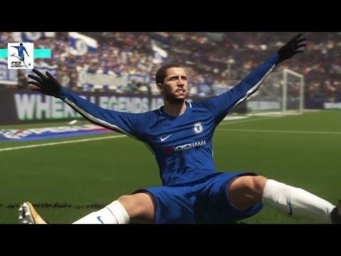 PES 2018 Gameplay PS4 - Chelsea Vs Tottenham - Premier League - بيس 18