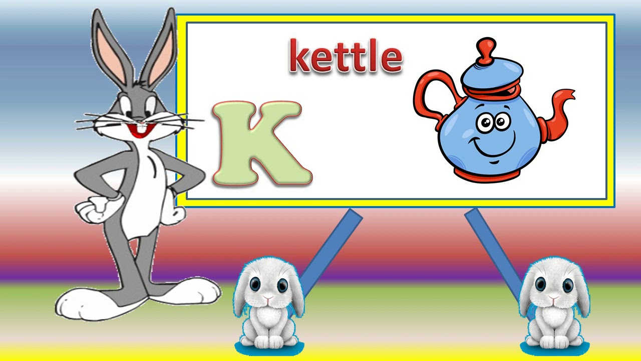 Words Start With K Learn Letter K Sound Of K Youtube