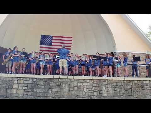 7th an 8th Grade McCall Middle School Band - Equinox - At Knoebels