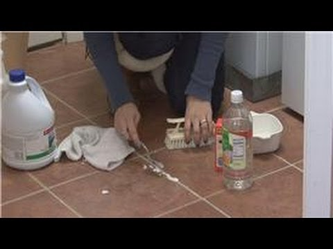 House Cleaning U0026 Stain Removal Tips : Best Way To Clean Ceramic Tile