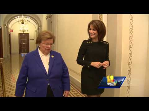 Maryland Sen. Barbara Mikulski reflects on career