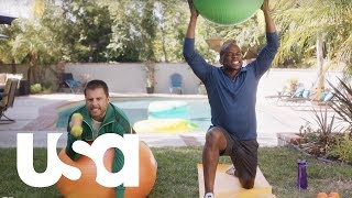 Psych: The Movie | Shawn and Gus Get Back in Shape | USA Network