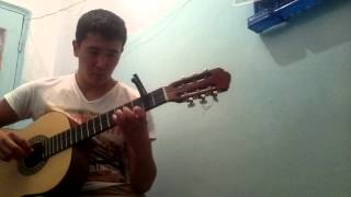 Сумерки на гитаре парень из kg