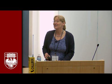 Dr. Margit Burmeister speaks at Brain Awareness Day 2013