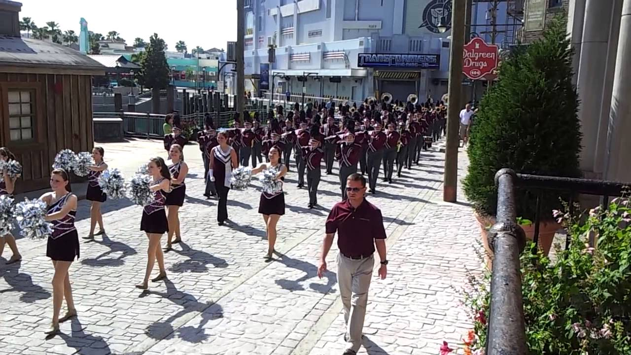 Gardendale High Rocket Band Parade at Universal - YouTube