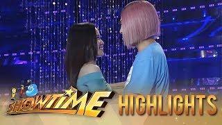 "It's Showtime Miss Q & A: Vice Ganda hugs ""Ate Girl"""