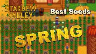 Stardew Valley - Money Making - Spring - Best Seeds