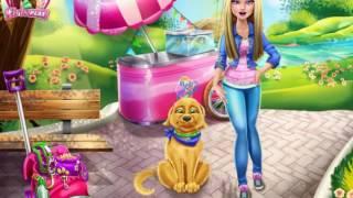Барби и её пёс Потти  Как нужно заботится о своем питомце!!