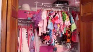 Preschooler Closet Tour - 4 Year Old Bella's Closet