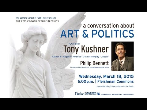 Pulitzer Prize-winner Tony Kushner Talks Art And Politics At Duke University