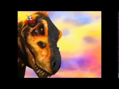 Dino rey Batalla contra el T-Rex negro