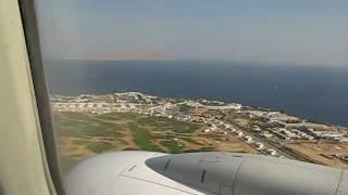 Египет, Шарм-эль-Шейх. Посадка и взлет на Боинге 737-800(, 2011-09-04T16:21:07.000Z)