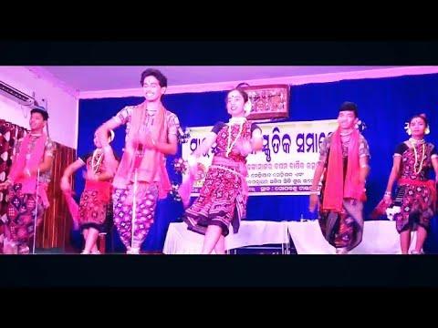 Sambalpuri Dance Video -mahula jhare barasila Pani by SHIVAYA DANCE ACADEMY