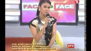 Face To Face TV5 December 10, 2012 Part 1