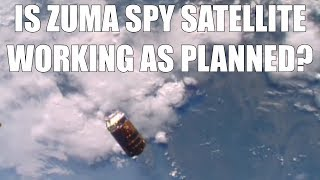 Is Zuma Spy Sat Operational?