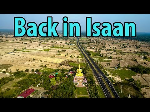 #50 - back in isaan with a drone, ubon Ratchathani thailand