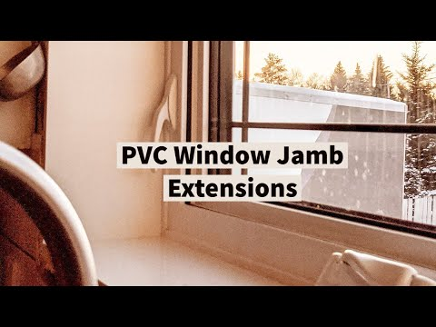 Fast And Easy PVC Window Jamb Extension Installation!