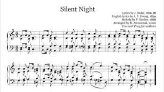 Silent Night - organ piano free sheet music download pdf - www.Nuty.Pro