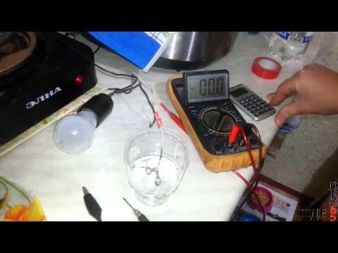 Как проверить дистиллированную воду, интересный эксперимент