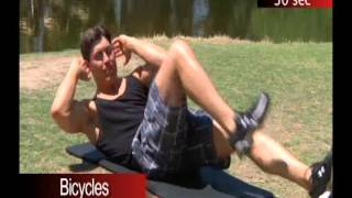 Jessie Faller - Bicycles for Abs and Core
