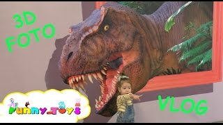 VLOG Exhibition for kids | Выставка фото 3D - Музей Иллюзий | Живые герои 3D(VLOG Exhibition for kids. Gil go on exhibition of foto 3D. It's exhibition of color pages 3D with animals. Very fun video for kids. Выставка фото 3D - Музей ..., 2016-03-24T10:31:27.000Z)