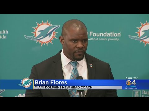 Miami Dolphins Officially Introduce Brian Flores As New Head Coach