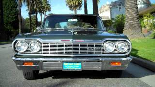 1964 Chevrolet Impala SS 409 4 spd Convertible For Sale