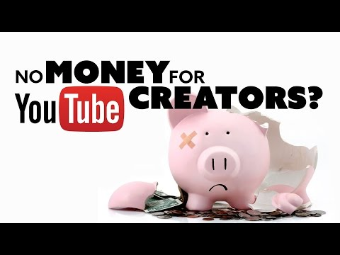 Money GONE for YouTube Content Creators? - The Know Tech News