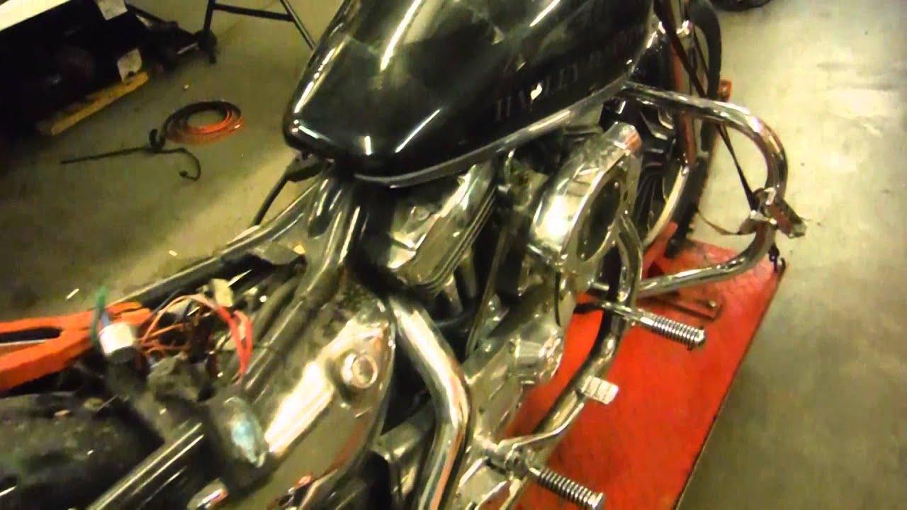 1991 Harley Davidson Sportster XLH1200 - YouTube
