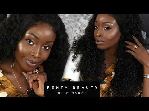 FENTY BEAUTY by RIHANNA | FULL FACE  | IMPRESSIONS + REVIEW | GIVEAWAY CLOSED