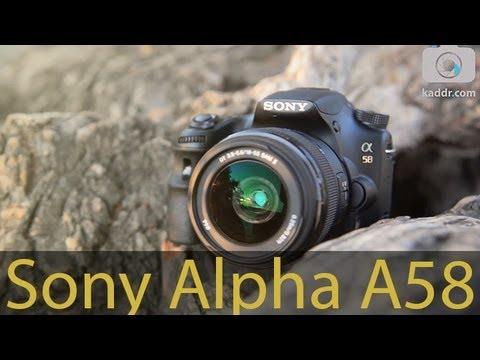 Sony Alpha SLT-A58 - Обзор Зеркального Фотоаппарата с полупрозрачным зеркалом - Kaddr.com