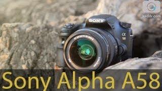 sony alpha slt a58 обзор зеркального фотоаппарата с полупрозрачным зеркалом kaddr com