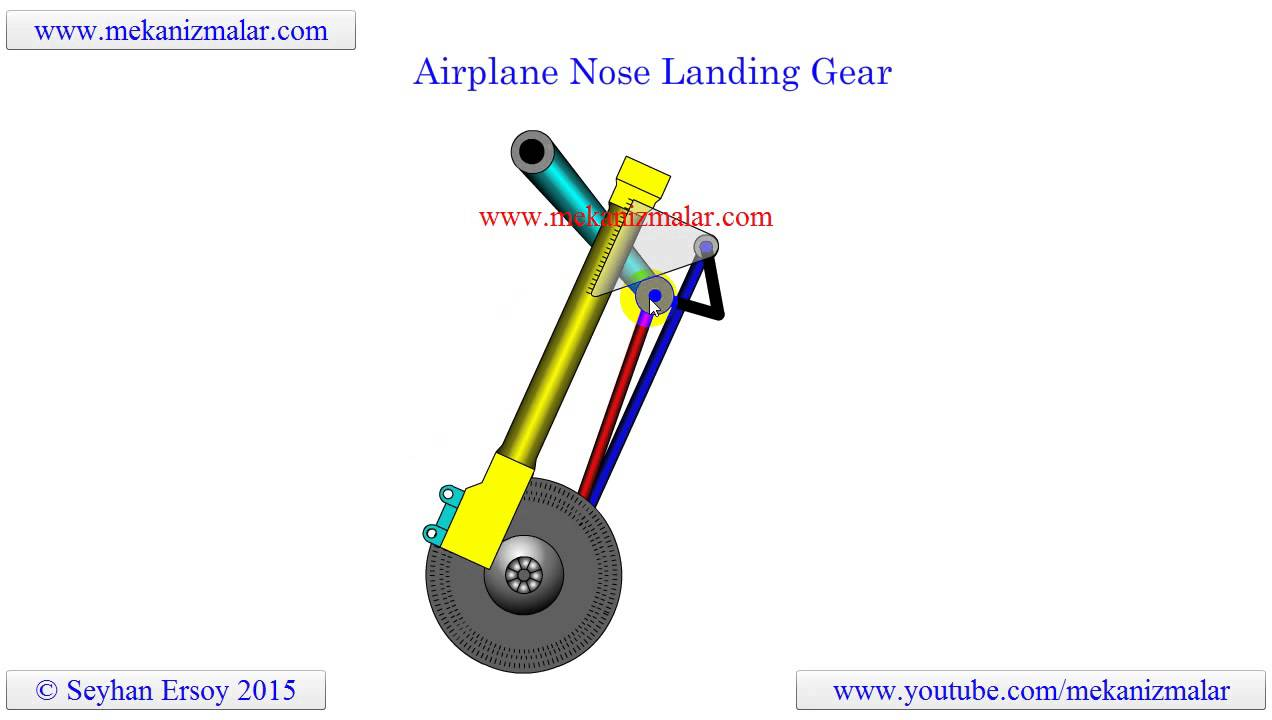 airplane nose landing gear