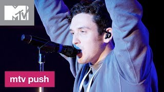 Lauv Performs 'I Like Me Better' (Live Performance) | MTV Push