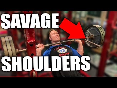 SAVAGE Shoulder Workout You Must Try | Mike O'Hearn