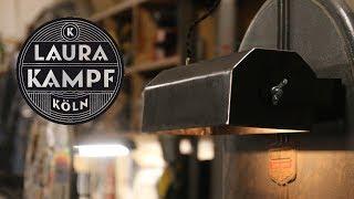 Workshop Lamp made from Sheetmetal