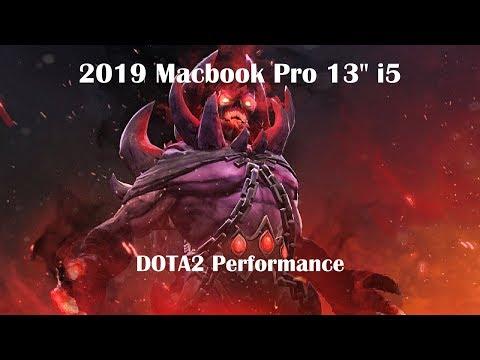 "DOTA 2 On MacBook Pro 2019 13"" Review"
