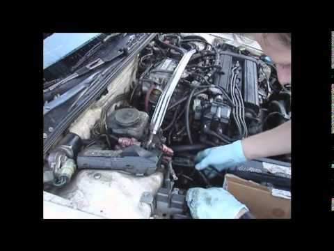1990 Integra: Engine Wiring Harness Install on