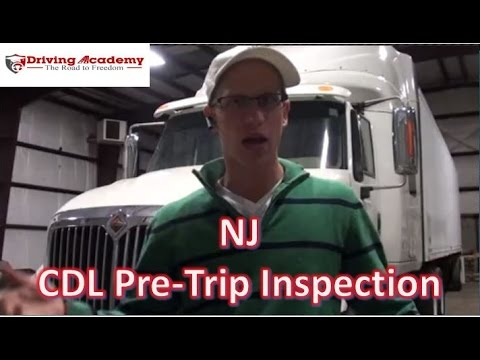CDL Class A Pre-Trip Inspection - Pass Your NJ CDL Road Test