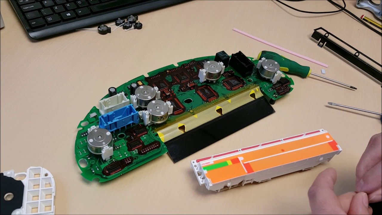 Bmw e38 e39 e53 x5 speedometer new replacement lcd pixel repair