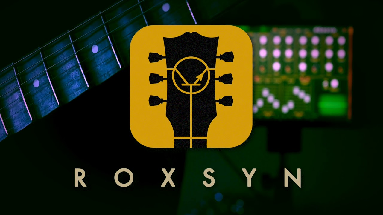Roxsyn is an iOS synth that you can play from your guitar
